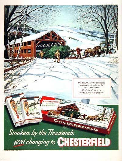 1953 Chesterfield Christmas #002262