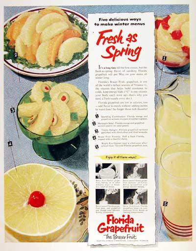 1953 Florida Grapefruit #003462