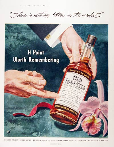 1953 Old Forester
