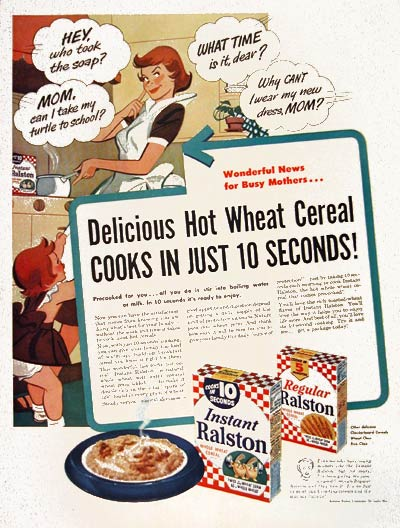 1953 Purina Wheat Cereal #004495