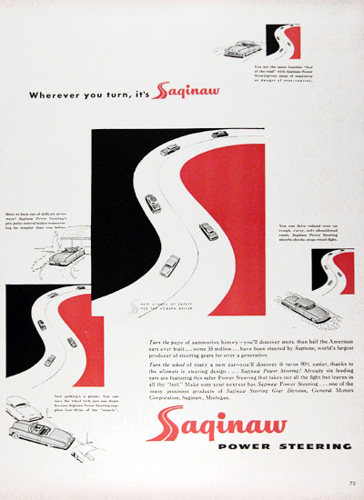 1953 Saginaw Power Steering #024605