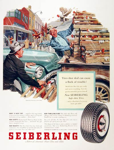 1953 Seiberling Tires #001483