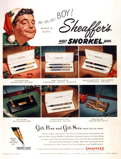 1953 Sheaffer Snorkel Pens #002321