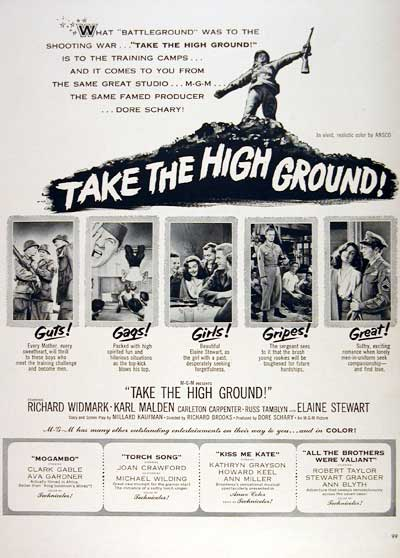 "1953 ""Take the High Ground"" #003488"