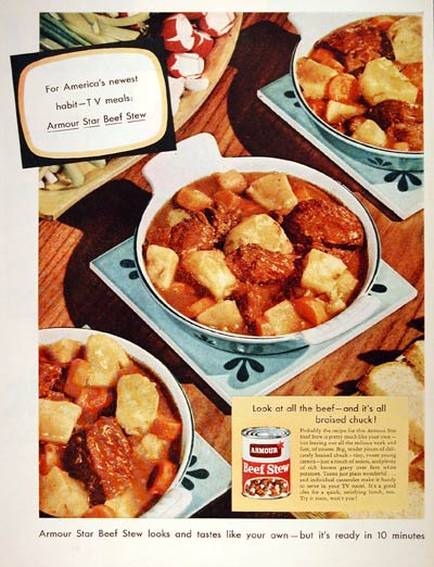 1954 Armour Beef Stew #004135