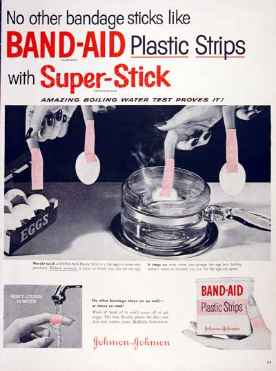 1954 Band-Aid Bandages #003992