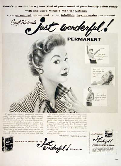 1954 Just Wonderful Permanent #004467
