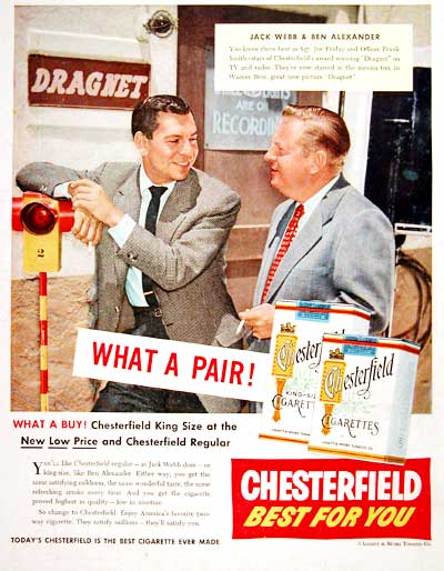 1954 Chesterfield Cigarettes #004153