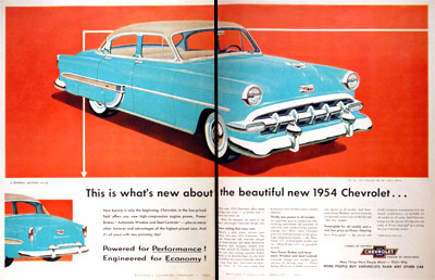 1954 Chevrolet Bel Air #001948