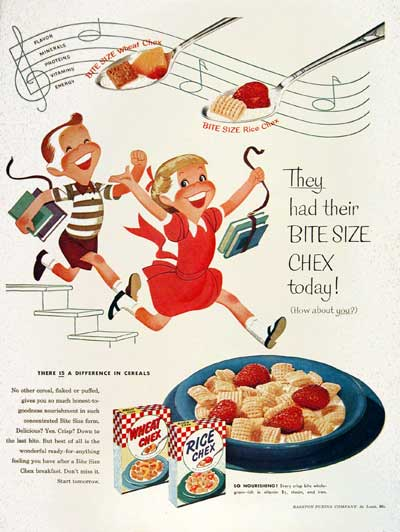 1954 Ralston Chex Cereals #004453