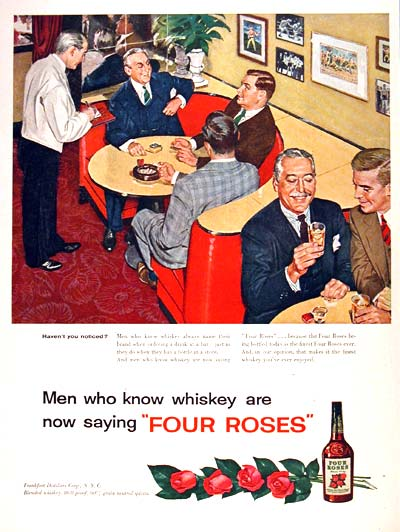 1954 Four Roses Whiskey #002247