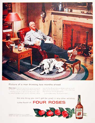 1954 Four Roses Whiskey #004146