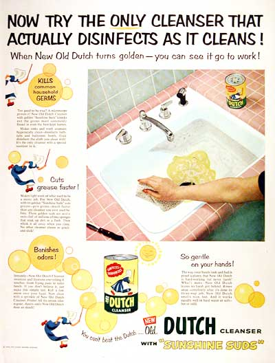1954 Old Dutch Cleanser #003976