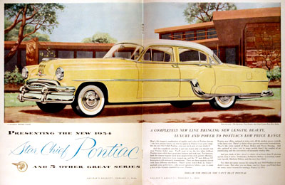 1954 Pontiac Star Chief #001947