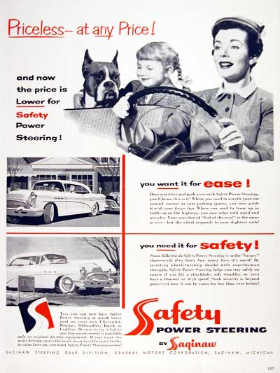 1954 Safety Power Steering #004002