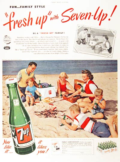 1954 Seven Up #000594