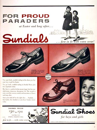 1954 Sundial Shoes