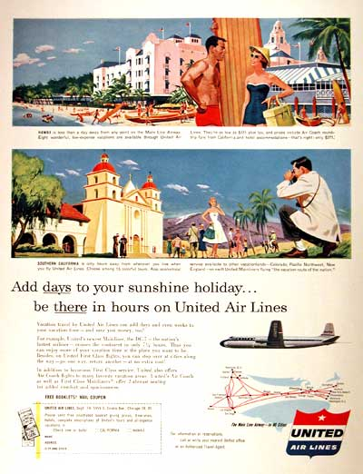 1954 United Air Lines #002097