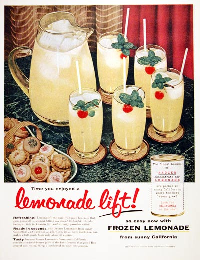1955 California Lemonade #004123
