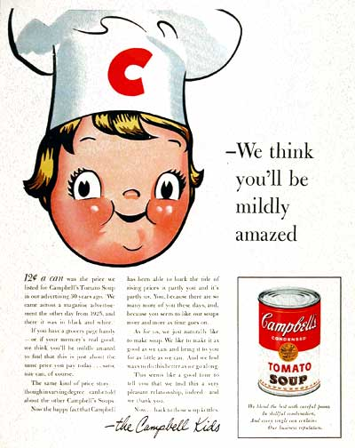 1955  Campbell's Kid #003789