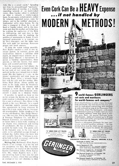 1955 Gerlinger Fork Lift #002179