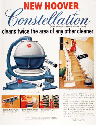 1955 Hoover Constellation #003787