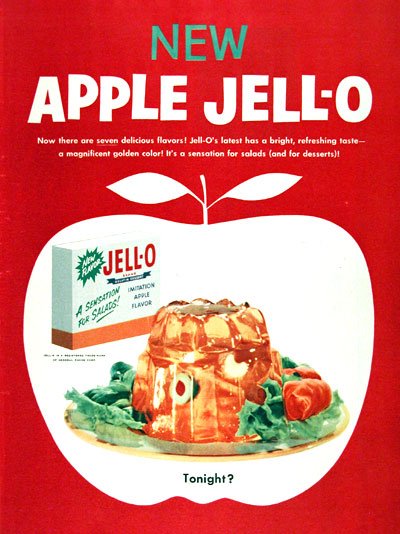 1955 Jell-O Apple Flavor