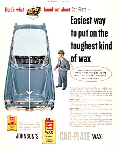 1955 Johnson Car Wax #003329