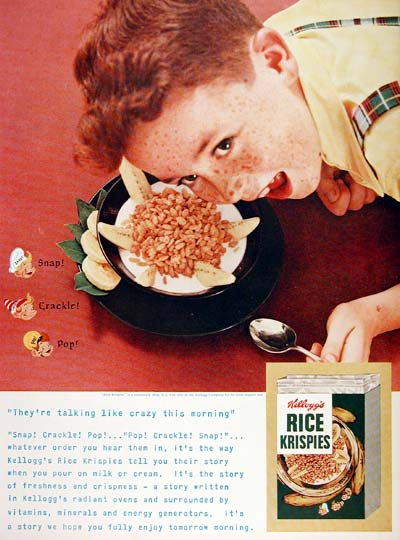 1955 Kellogg's Rice Krispies #007702