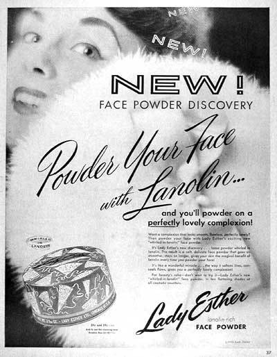 1955 Lady Esther Face Powder #003769