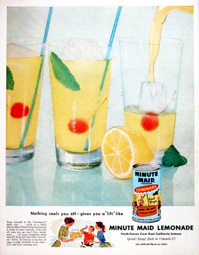 1955 Minute Maid Lemonade #004098