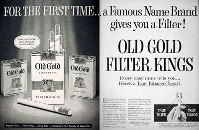 1955 Old Gold Cigarettes #015923