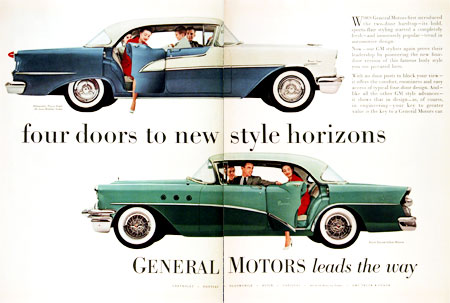 1955 Olds & Buick #002217