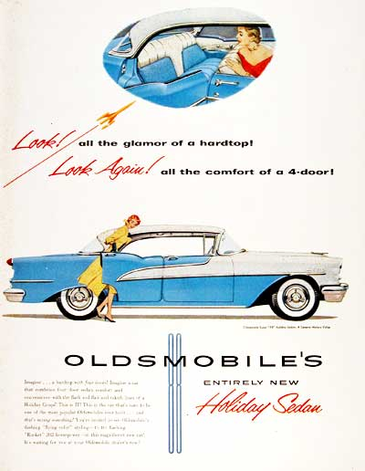 1955 Oldsmobile Super 88 Sedan #003790