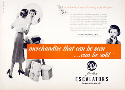 1955 Otis Escalators #002981