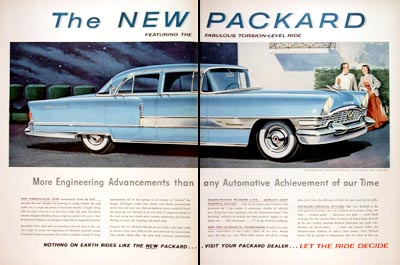 1955 Packard Patrician Sedan #006816