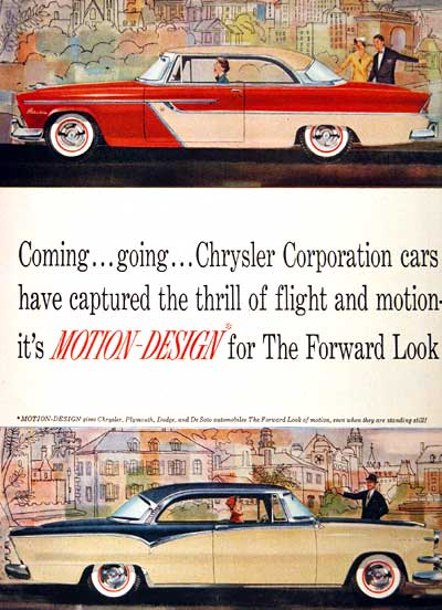 1955 Plymouth Belvedere Vintage Ad #002166