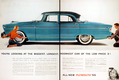 1955 Plymouth Belvedere Sedan #006834