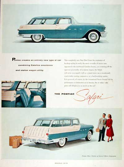1955 Pontiac Safari Wagon #003090