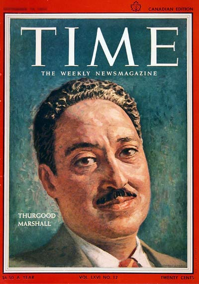 1955 Thurgood Marshall #002993
