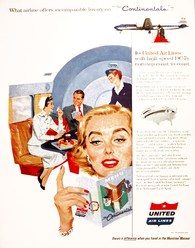 1955 United Airlines #004127