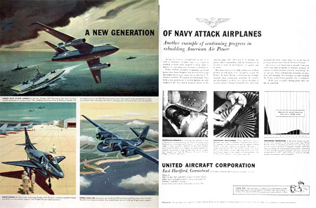 1955 United Navy Jets #002218