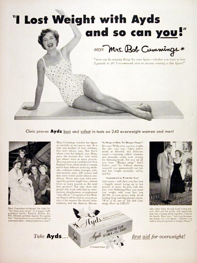 1956 Ayds Weight Loss #007534