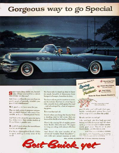 1956 Buick Special Convertible #004430
