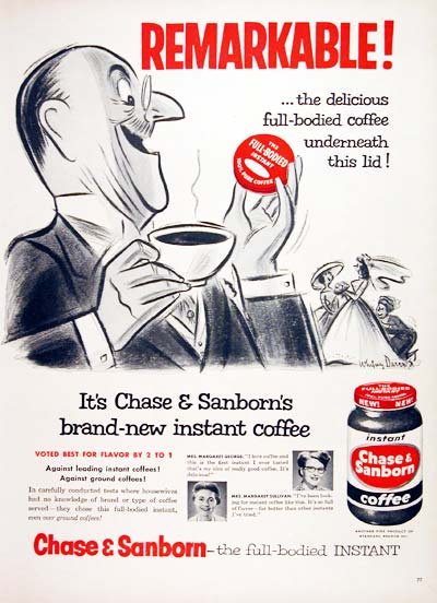 1956 Chase & Sanborn Coffee #006683