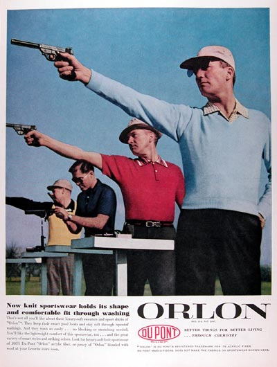 1956 DuPont Orlon Sweaters #009390