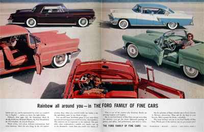1956 Ford Line #003088