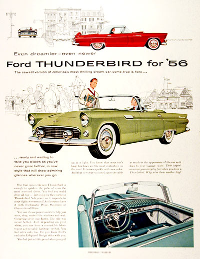 1956 Ford Thunderbird #001541