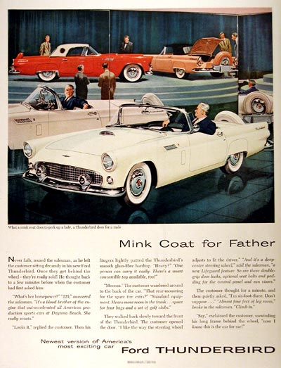 1956 Ford Thunderbird #001549