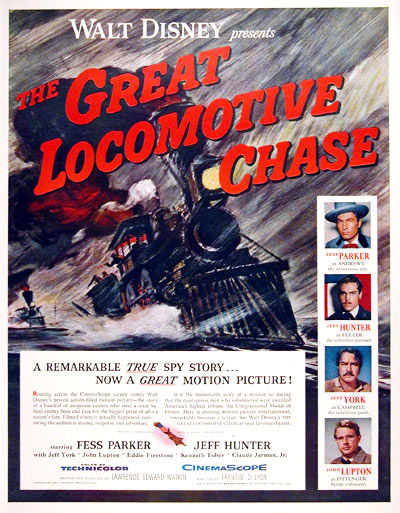 "1956 ""The Great Locomotive Chase"" #006691"